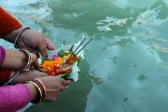 Pendant les célébrations Makar Sankranti Photographie stock