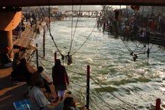 Pendant les célébrations Makar Sankranti festival Photographie stock libre de droits