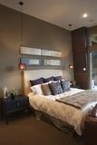 Pendant Lights In Bedroom Royalty Free Stock Image