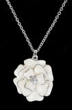 Pendant in the shape of a flower Royalty Free Stock Photography