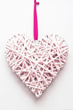 Pendant in the shape of heart Royalty Free Stock Images
