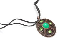 Pendant with string Royalty Free Stock Image