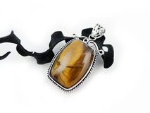 Pendant Tiger Eye Stock Image