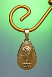 Pendant of the virgin girl Stock Photo