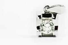 Pendants de diamant Photographie stock