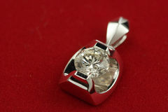Pendants de diamant Photographie stock libre de droits