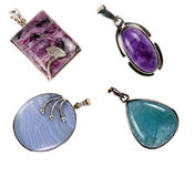 Pendants Set 1 Stock Photos