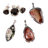 Pendants Set 3 Stock Images