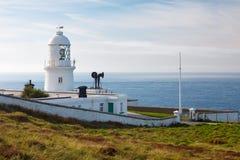 Pendeen-Leuchtturm Cornwall Stockfoto