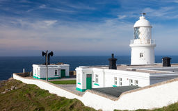 Pendeen Lighthouse Cornwall Royalty Free Stock Images