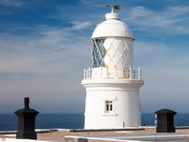 Pendeen Lighthouse Cornwall Stock Photos
