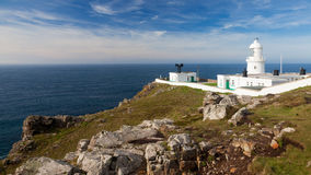 Pendeen Lighthouse Cornwall Royalty Free Stock Photography