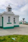 Pendeen lighthouse in cornwall england uk Stock Photo