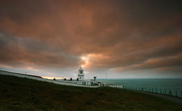 Pendeen Lighthouse West Cornwall Royalty Free Stock Photos