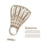Pendelhaan, Hand getrokken krabbel, Vectorillustratie Stock Afbeelding