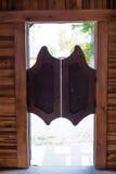 Pendeltüren Stockbild