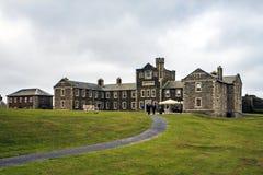 Pendennis城堡,法尔茅斯,康沃尔郡,英国 免版税库存照片