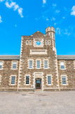 Pendennis Castle Armory. An old armory near the Pendennis Castle keep Royalty Free Stock Photography