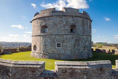 Pendennis Castle Royalty Free Stock Photos
