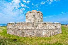 Pendennis Castle keep Royalty Free Stock Images