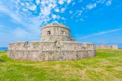 Pendennis Castle keep Stock Images
