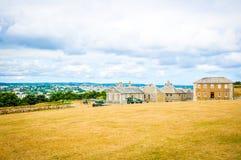 Pendennis slott i Falmouth, England royaltyfria foton