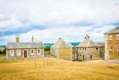 Pendennis slott i Falmouth, England arkivfoto