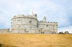 Pendennis slott i Falmouth, England royaltyfri foto