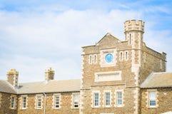 Pendennis slott i Falmouth, England royaltyfri bild