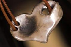 Pendente del cuore Fotografia Stock Libera da Diritti