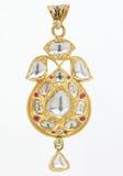 Pendente do diamante Foto de Stock Royalty Free