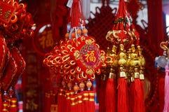 Pendente festivo tradizionale cinese Fotografia Stock Libera da Diritti