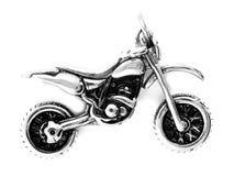 Pendentes da joia motorbike Aço inoxidável fotos de stock royalty free