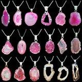 Pendentes de pedra preciosa Imagens de Stock Royalty Free