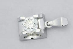 Pendenti del diamante Fotografie Stock Libere da Diritti