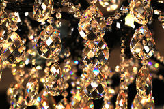 Pendenti di cristallo Fotografia Stock
