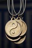 pendents yinyang zdjęcia royalty free