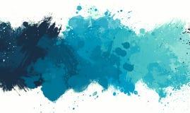Pendenza blu della spruzzata immagini stock