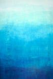 Pendenza blu disegnata a mano sulla parete immagini stock libere da diritti