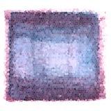 Pendenza del mosaico - fondo strutturato dei colori porpora e blu royalty illustrazione gratis