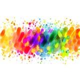 Pendenza dell'arcobaleno illustrazione di stock