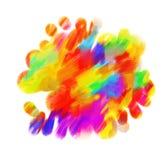 Pendenza dell'arcobaleno illustrazione vettoriale