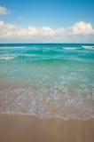 Pendenza della spiaggia Fotografia Stock