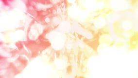 Pendenza moderna per progettazione di affari Fondo astratto dell'arcobaleno nella gradazione variopinta pastello Animazione del c video d archivio