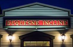 Pendenza storica di Duquesne immagine stock