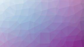 Pendenza viola astratta di vettore lowploly del fondo di molti triangoli per uso nella progettazione Immagini Stock