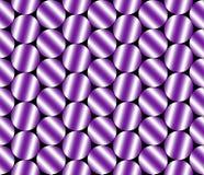 Pendenze di struttura metallica lucida in tonalità porpora illustrazione di stock