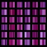 Pendiente color de rosa moderna del oro Imagen de archivo