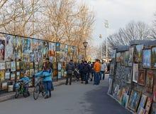 Pendiente de Andriyivskyy Fotos de archivo libres de regalías