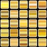 Pendiente de oro Foto de archivo libre de regalías